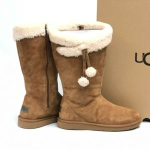 UGG Plumdale Cuff Tall Winter Boots 6 NEW IN BOX